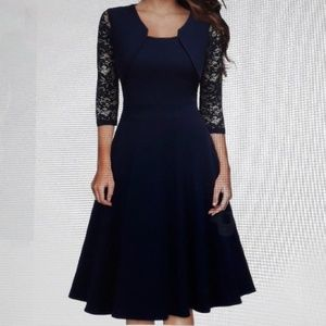 NWT Vintage evening cocktail party swing dress